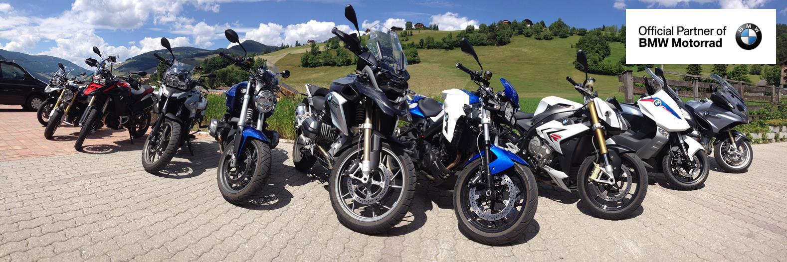 BMW Test Motorräder