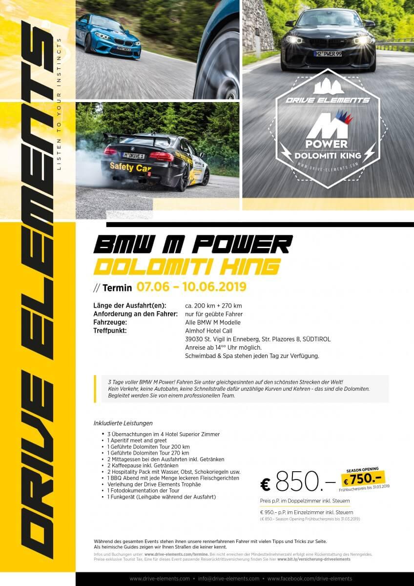 BMW M Power Dolomiti King