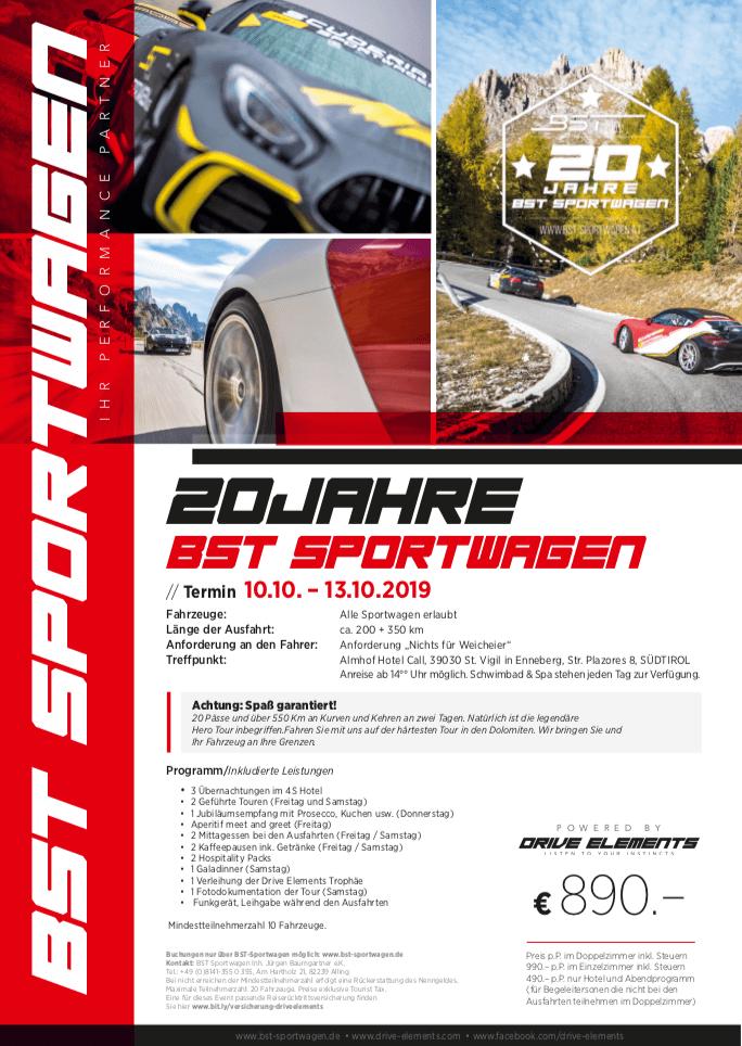 20 Jahre BST-Sportwagen