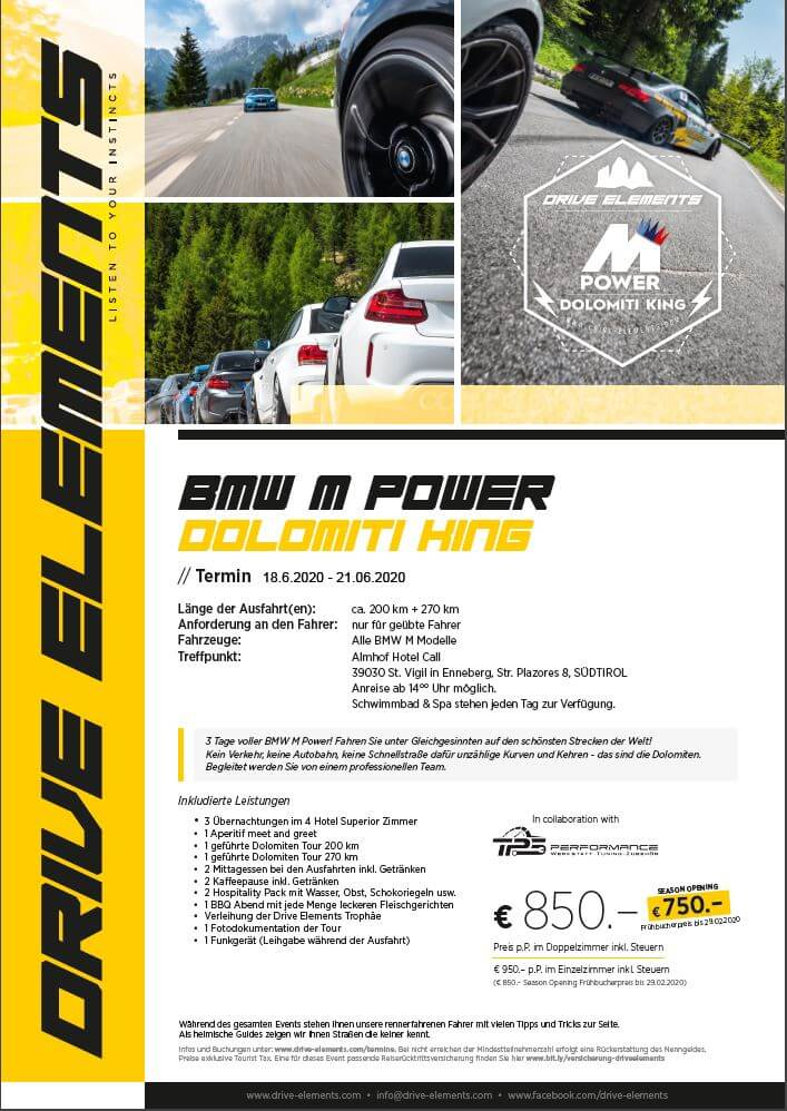 BMW M Power Dolomiti King