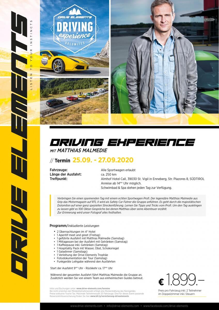 Driving Experience mit Matthias Malmedie