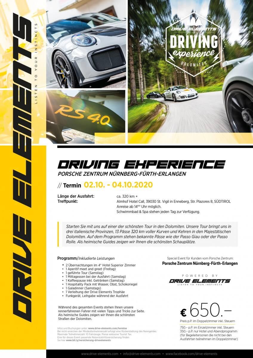 Driving Experience Porsche Zentrum Nürnberg-Fürth-Erlangen