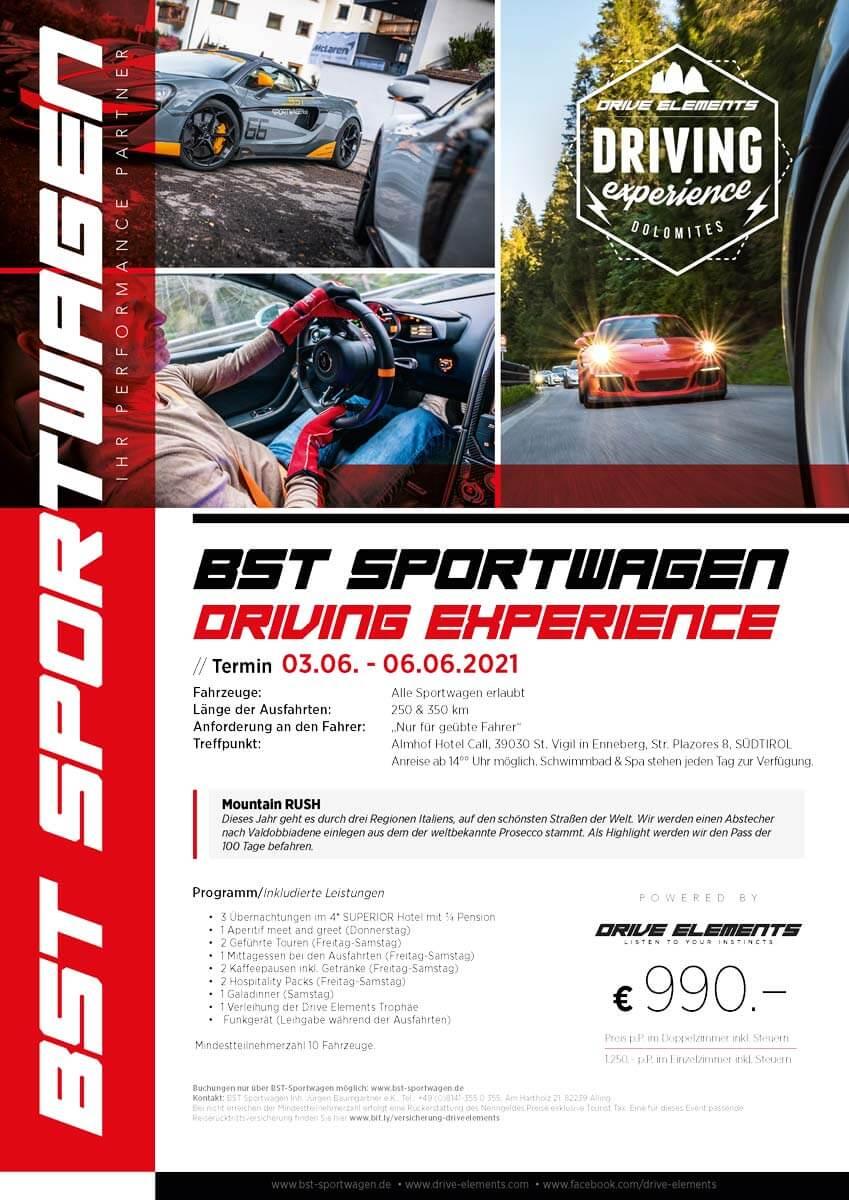 BST Sportwagen Driving Experience